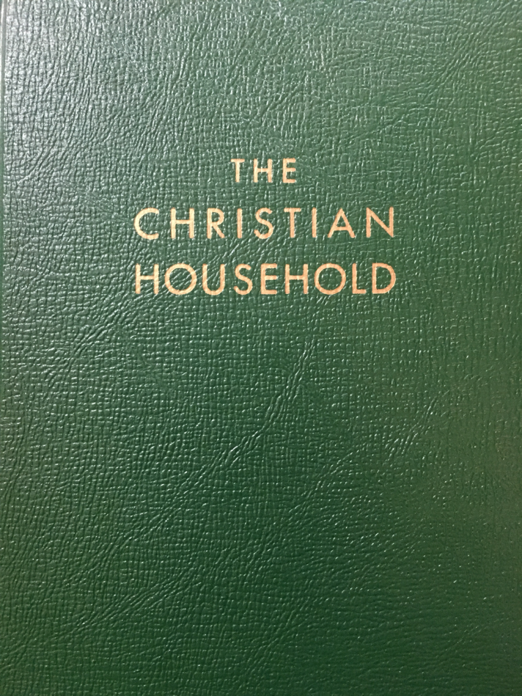 THE CHRISTIAN HOUSEHOLD 2