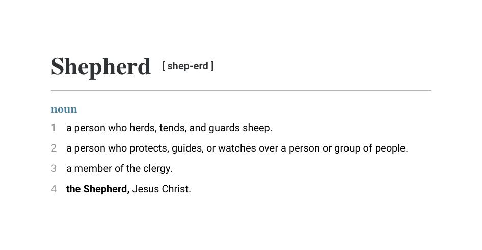 Shepherd def