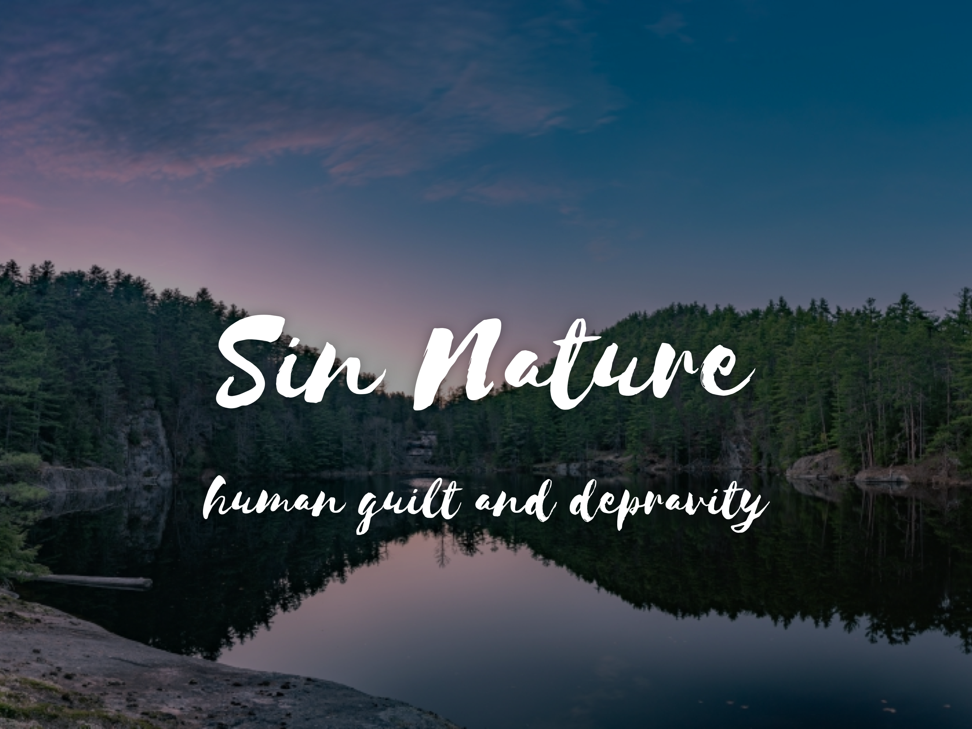 Sin Nature